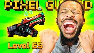 WE FINALLY HIT MAX LEVEL 65!! l Pixel Gun 3D