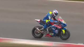 BSB British Superbike Round  Brands Hatch Indy - Race 2