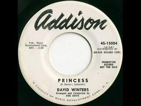 David Winters at 18 singing Princess