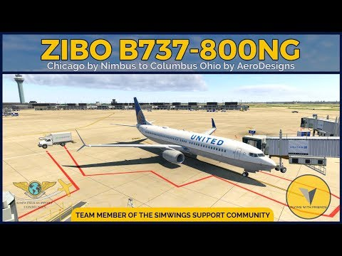 X-PLANE 11 | United B738 - Chicago KORD ✈ Columbus Ohio KCMH | VATSIM