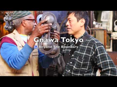 5_Gnawa Tokyo warmly welcomed by Qarqaba maalem at Gnawa Academy Marrakech