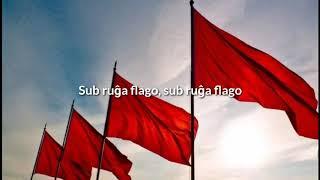 Gianfranco Molle - Ruĝa Flago (Socialisma kanto en Esperanto)