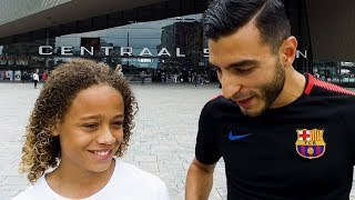 TOUZANI & XAVI SIMONS  - FC Barcelona