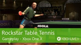 Rockstar Table Tennis - Gameplay - Xbox One X