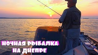 Я ТАКОГО НЕ ОЖИДАЛ, ВОТ ЭТО ПОКЛЕВКА, А Ж ЗАДЫМИЛА КАТУШКА! Рыбалка с ночевкой на Днепре!
