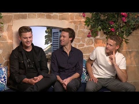 Meet The Young Hunky Dads In MAMMA MIA Sequel  Jeremy Irvine, Hugh Skinner & Josh Dylan
