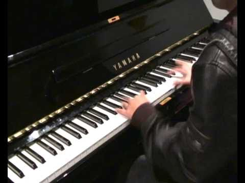 Coldplay - Life In Technicolor ll (piano cover) improved version