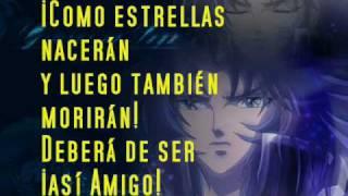my dear-intrumental-letra español-saint seiya.-mi amigo