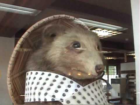 Japanese Tanuki Raccoon Dog Figure