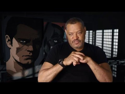 "Batman V Superman ""Perry White"" Behind The Scenes Interview - Laurence Fishburne"
