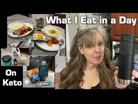 What I Eat In A Day Dirty Strict Keto And Intermittent Fasting Keto Crab Soup And Stuffed Peppers Youtube