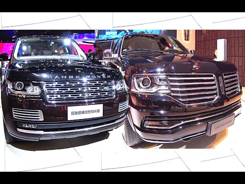 Officially New 2016, 2017 Range Rover Autobiography VS 2016, 2017 Lincoln Navigator TOP luxury SUVs