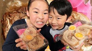 チャー弁を作って食べるRino&Yuuma