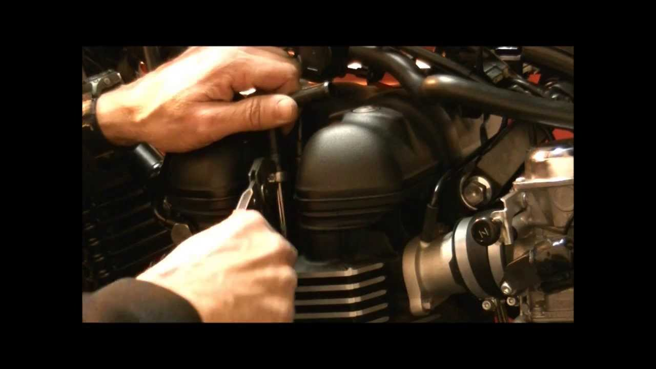 Delboys Garage How To Triumph Air Injection Removal Youtube 2014 Thruxton Wiring Diagram