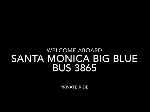 (SPECIAL) Santa Monica Big Blue Bus 1997 New Flyer D40LF | Coin Lloyd's Transit Hub