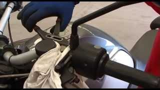 BMW R1200 GS clutch actuator maintenance