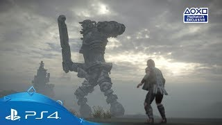 Shadow of the Colossus - E3 2017 - Fragman