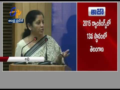 Andhra Pradesh, Telengana Best Places to Do Business in India: Nirmala Sitharaman