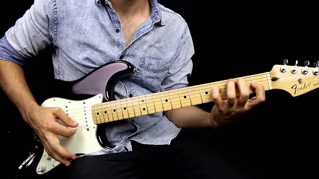 fender standard stratocaster mim demo by jesse fildes youtube