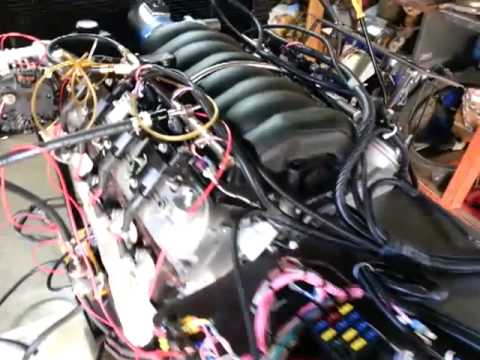 hqdefault ls3 stand alone wiring test run 6 1 13 youtube O8 GMC Engine Wiring Harness at highcare.asia