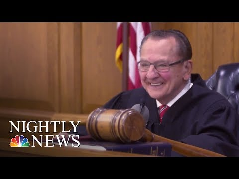 Viral Judge Frank Caprio Rules With A Big Heart | NBC Nightly News