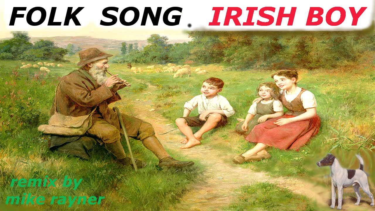 Best Folk Songs  Irish Boy  Sad Celtic Country Music  Old Films Movies of  Ireland  Traditional Flute