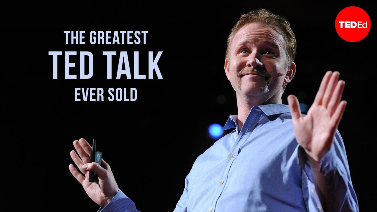 The greatest TED Talk ever sold - Morgan Spurlock - YouTube