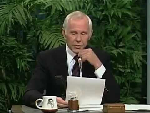 Johnny Carson 1989 02 02 Jay Leno and Fred Savage