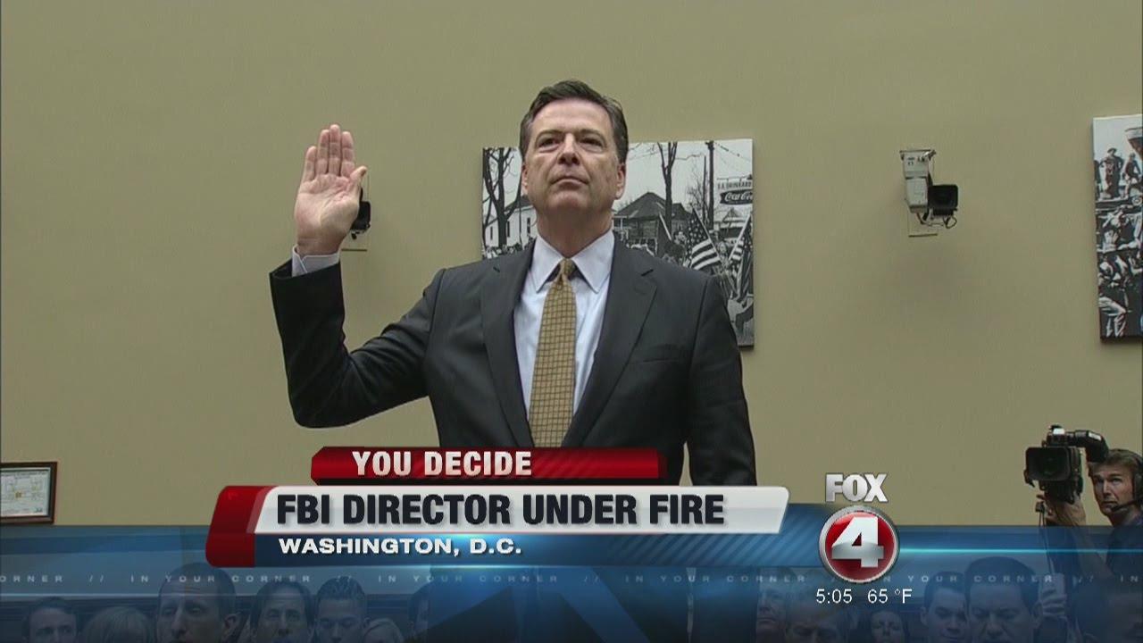 Hillary Clinton Blasts FBI Director