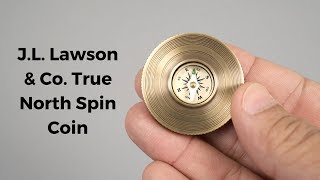 Innovative Brass Compass Top | Gear Focus #16: J.L. Lawson & Co. True North Spin Coin