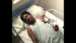 Teacher shot at hand at Bhatpara during political violence