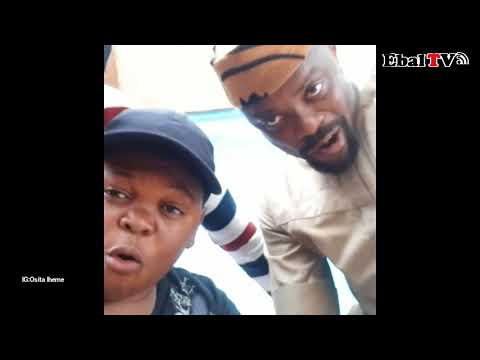 Osita Iheme 'Pawpaw Sings to Congratulate Ime Bishop Umoh for His New Born Baby