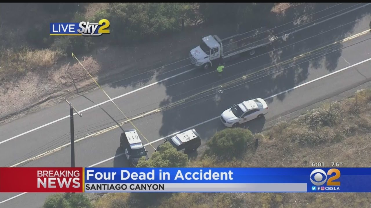 4 Dead After 2 Motorcycles Collide In Orange County California