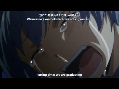 Assassination Classroom 3 NEN E GUMI - Tabidachi no Uta AMV [Lyric]