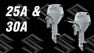 Suzuki Outboards Models DF25A and 30A