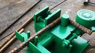 Bàn bẻ mỏ bẻ đai sắt thép xây dựng 2 trong 1 | THIẾT BỊ CÔNG TRÌNH