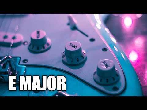 Emotional Acoustic Guitar Backing Track In E Major | Stay Young