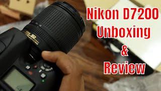 Hindi KameraMan Nikon D7200 Quick Unboxing and Hands On in Hindi