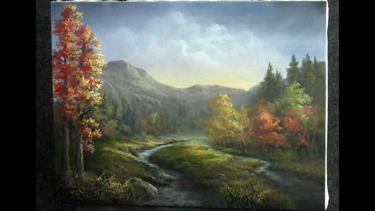 Paint With Kevin Hill Autumn River Youtube