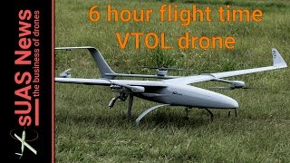 ALTi Transition VTOL fixed-wing drone flies for 6 hours