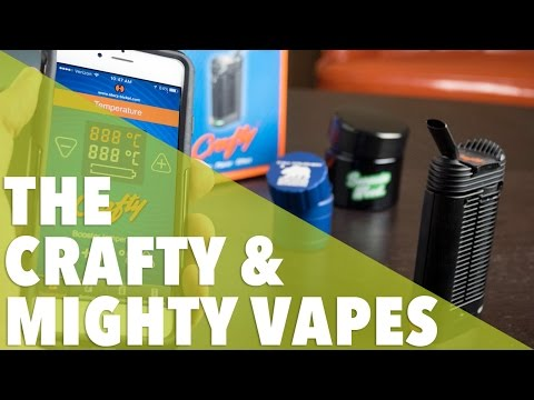 The Crafty & Mighty Vape // 420 Science Club