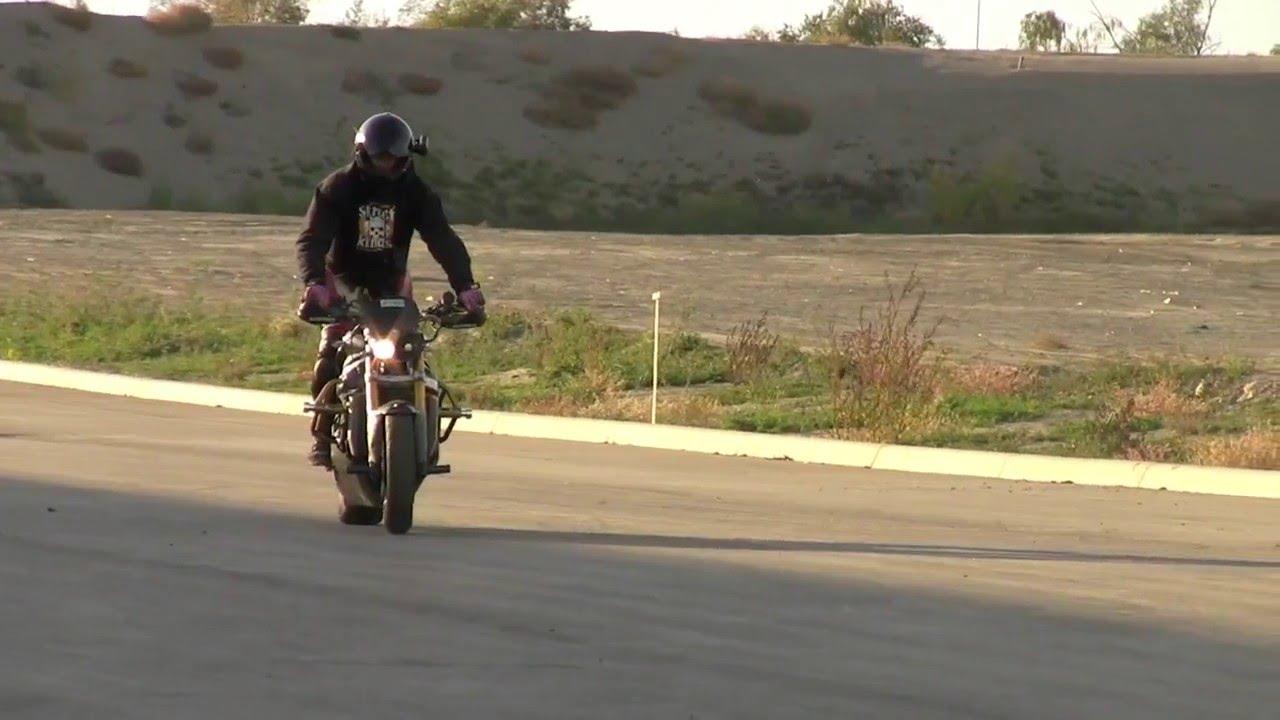 Charles Jarman Stunt Riding Balance Point Practice 09/10