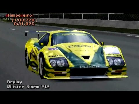 PLAYSTATION 1 - Gran Turismo 2: Lister Storm V12