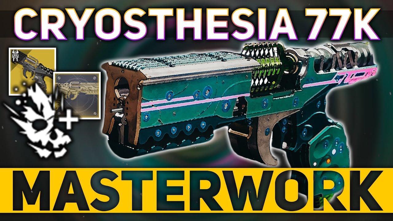 Download Cryosthesia 77k MASTERWORK Review (Stasis Sidearm) | Destiny 2 Season of the Splicer