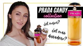 🥊RESEÑA COMPARATIVA: Colección Prada CANDY (Kiss, Night, Gloss, Florale, Sugar Pop) 🔴 ¿CUÁL COMPRAR?