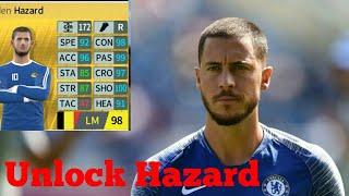 How to unlock Eden Hazard - Dream League Soccer 2018