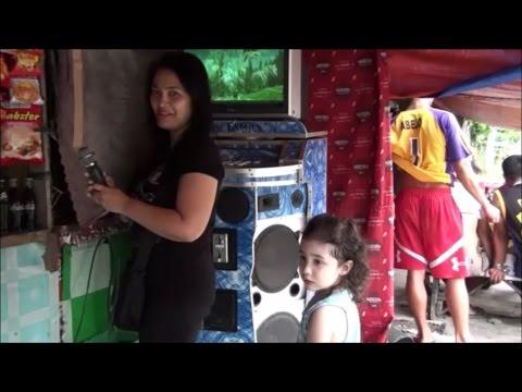 Roadside Karaoke: Dalipuga, Mindanao, Philippines