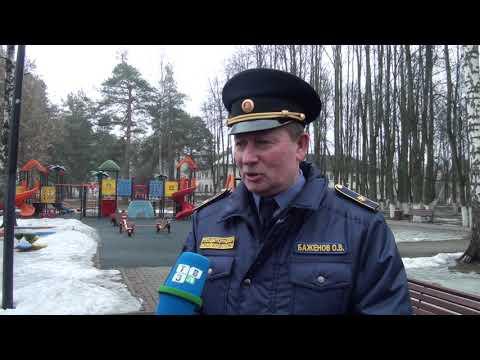 ТВЭл - Олег Баженов посетил с проверкой городской округ Электрогорск. (06.03.20)