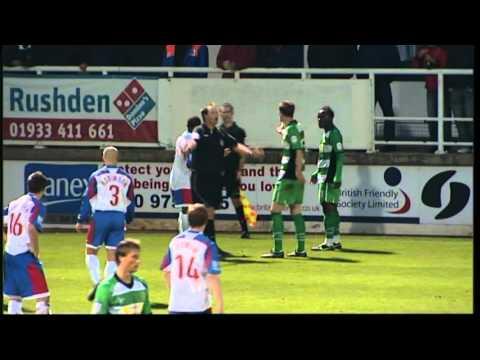 Rushden & Diamonds vs Yeovil Town FA Cup 06/11/2010