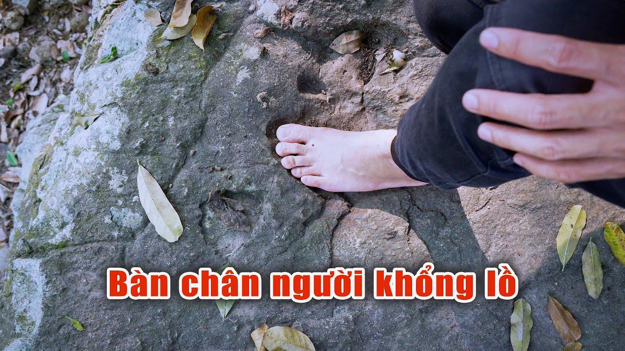 Phát hiện dấu vết người khổng lồ ở Thanh Hóa hàng triệu năm trước